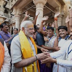Diwali has come early with GST relief, PM Modi says during visit to poll-bound Gujarat