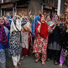 Kashmir: Elderly man mistaken for braid-chopper dies after he is hit by a brick
