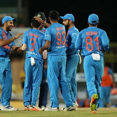 Clinical India drub Australia by 9 wickets in rain-hit T20I in Ranchi