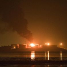 In photos: Officials say fire at Mumbai fuel storage under control, cooling operation under way