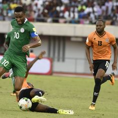 World Cup qualifiers: Alex Iwobi sends Nigeria to Russia, Ghana eliminated