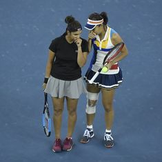 Sania Mirza and Shuai Peng go down in the semifinals at China Open