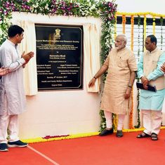 Narendra Modi inaugurates Rs 500-crore hospital in poll-bound Gujarat's Vadnagar