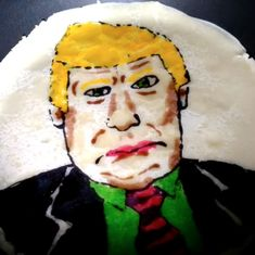 Watch: This man makes pancakes with the faces of celebrities (like Donald Trump) for you to demolish