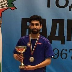 Gurusaidutt returns from year-long injury lay-off to win Bulgarian International title