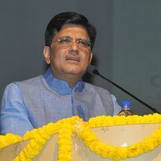 Piyush Goyal to handle Finance Ministry, Smriti Irani loses information and broadcasting portfolio