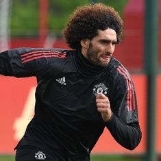 Coronavirus: Fellaini becomes first known case of Chinese Super League player to test positive