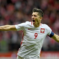 Lewandowski record secures Poland's 2018 World Cup berth, Germany maintain perfect run