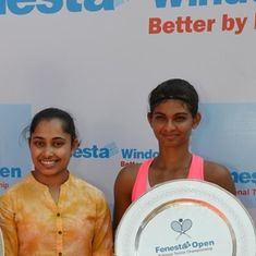 Dalwinder Singh and Mahak Jain are the new national tennis champions