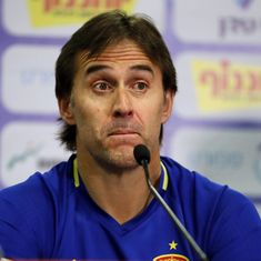 Spain coach Julen Lopetegui faces sack after taking Real Madrid job: Reports