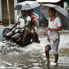 In photos: Heavy rain disrupts life in Kolkata, flights and trains delayed