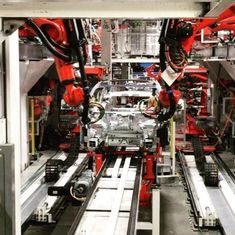 Watch: This is what the assembly line of the new Tesla Model 3 looks like