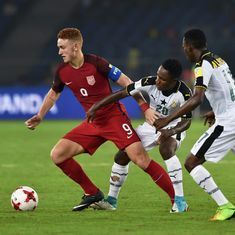 Fifa U-17 World Cup: USA secure safe passage to Round of 16 after narrow 1-0 win over Ghana