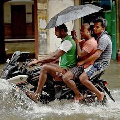 Kolkata: Heavy rain disrupts road traffic, flights and train services in the city