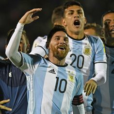 Watch: Brilliant Lionel Messi hat-trick carries Argentina into 2018 World Cup