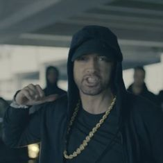 Watch: Eminem spits fire in this savage freestyle rap that takes down Donald Trump