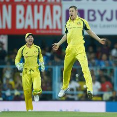 Test cricket is the ultimate prize for Australia's second T20I hero Jason Behrendorff