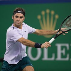 Sloppy Roger Federer pushed all the way in Shanghai Masters opener