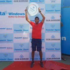 Tennis: First national title in the bag, Dalwinder Singh is set to take his game to higher level