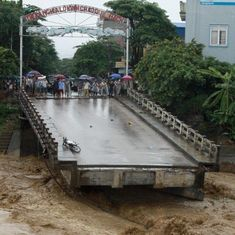 At least 37 dead, 40 missing after heavy rains cause floods, landslides in Vietnam