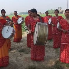 Watch: An all-woman Dalit band in Bihar is marching to the beat of its own drums