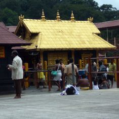 Sabarimala: Protestors stop two women devotees from entering temple