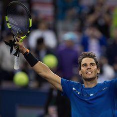 Rafael Nadal battles past Grigor Dimitrov, to face Marin Cilic in Shanghai Masters semis