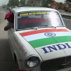 In Punjab, this man has a license to drive in reverse forever