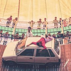 Video: Meet the woman who does death-defying stunts the 'well of death'