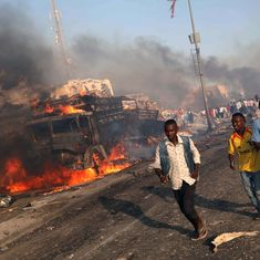 Somalia: At least 189 killed in car explosions in Mogadishu