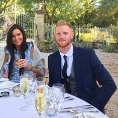 England's Ben Stokes puts Ashes worries aside to wed