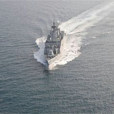 Navy inducts Indian-made anti-submarine warship INS Kiltan