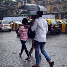 Unseasonal rain in Mumbai as Cyclone Ockhi passes Maharashtra and Gujarat