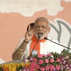 Amit Shah was the Man of the Match in the UP Assembly election, Narendra Modi says in Gujarat