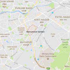 Delhi: Building in Mansarovar Garden collapses after major fire breaks out