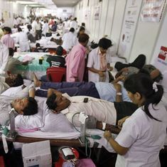 Why are patients asked to arrange for blood donors when it is the duty of the hospital?