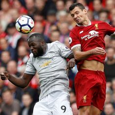 'He did it on purpose': Liverpool's Lovren slams 'nervous' Lukaku's tackle