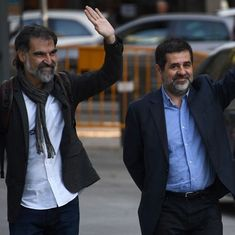 Spain jails two Catalan leaders allegedly for their role in pro-independence protests in September