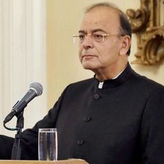 Markets on a tailspin because of global factors and not the capital gains tax, says Arun Jaitley