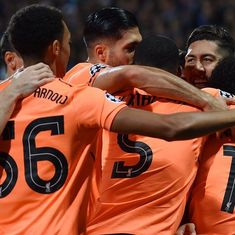 Seventh heaven: Liverpool record their biggest away win in Champions League, beat Maribor 7-0