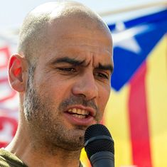 Guardiola dedicates City's win over Napoli to jailed pro-Catalan independence leaders