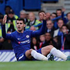 Alvaro Morata will get better, insists Chelsea boss Maurizio Sarri