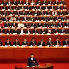 It's a 'new era' of Chinese power, President Xi Jinping says at Communist Party meet