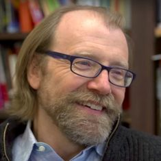 Watch: George Saunders isn't merely the Man Booker Prize winner. He is also a literary powerhouse