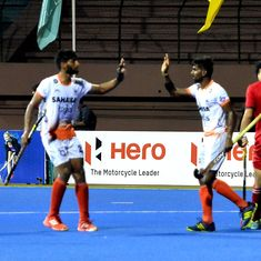 Asia Cup Hockey: Gurjant Singh's late strike helps India escape defeat against Korea