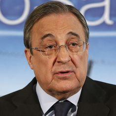 Real Madrid president cannot imagine La Liga without Barcelona