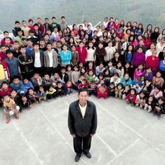Video: The world's biggest family lives in India's Mizoram