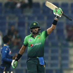 Imam-ul-Haq hits century on debut as Pakistan win ODI series, defeat Sri Lanka by 7 wickets