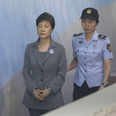 Former South Korean president's trial in corruption case put on hold after lawyers resign