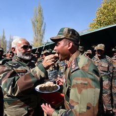 The big news: Narendra Modi celebrates Diwali with jawans along LoC, and nine other top stories